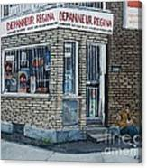 Depanneur Regina Canvas Print