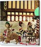 Department Store Window Canvas Print