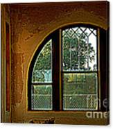 Depot Window Canvas Print