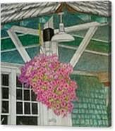 Depot Canvas Print