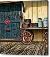 Depot Wagon Canvas Print