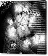 Depression Erodes My Mind Canvas Print