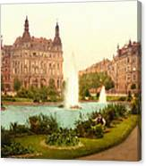 Der Deutsche Ring-cologne-the Rhine-germany -  Between 1890 And  Canvas Print