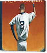 Derek Jeter Bows Out Canvas Print