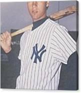 Derek Jeter New York Yankees Canvas Print