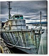 Derelict Navy Vessel Canvas Print