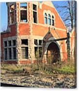 Derelict Station Canvas Print
