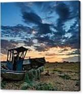 Derelict Sunset Canvas Print