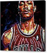 Derrick Rose-2 Canvas Print