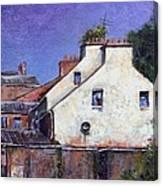 Derry Gables Canvas Print