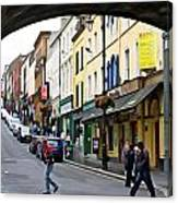 Derry Life - Irish Art By Charlie Brock Canvas Print