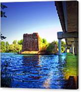 Deschutes Bridge  Anderson Ca  Watercolor   Canvas Print