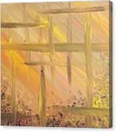 Desert Abstract Canvas Print