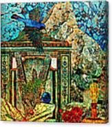 Desert Blue Canvas Print