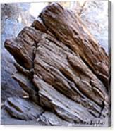 Desert Boulder Canvas Print