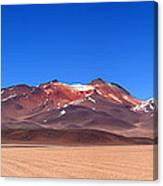 Desert Colours Panoramic Canvas Print