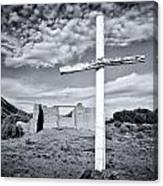 Desert Cross Canvas Print