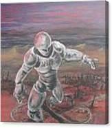 Desert Crossroads Canvas Print