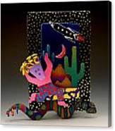Desert Dancer Canvas Print
