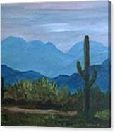 Desert Evening Canvas Print