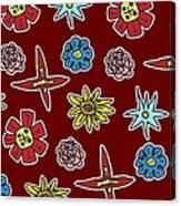 Desert Floral Canvas Print