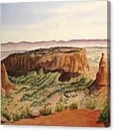 Desert Haze Canvas Print