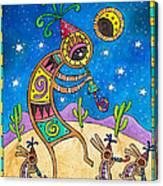 Desert Holiday Celebration Canvas Print