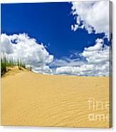 Desert Landscape In Manitoba Canvas Print