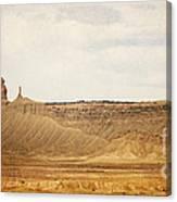 Desert Landscape2 Canvas Print