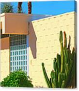 Desert Modern 7 Lakes Palm Springs Canvas Print