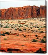 Desert Monolith Canvas Print