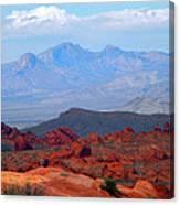 Desert Mountain Vista Canvas Print
