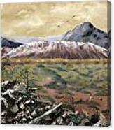 Desert Mountains Canvas Print