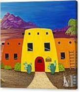Desert Oasis Canvas Print