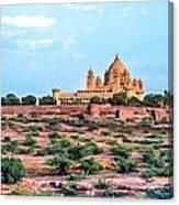 Desert Palace Canvas Print