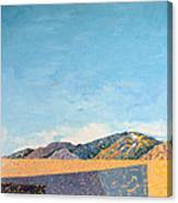 Desert Range Canvas Print