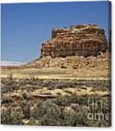 Desert Rock Formation Canvas Print