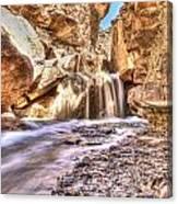 Desert Spring Runoff. Canvas Print