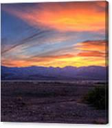 Desert Sunset Canvas Print
