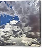 Desert Thunderstorm 1 Canvas Print