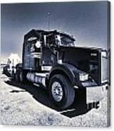 Desert Trucking  Canvas Print