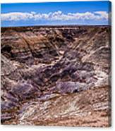 Desert Valley Canvas Print