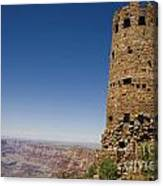 Desert View Watchtower Grand Canyon National Park Arizona Canvas Print