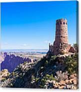 Desert View Watchtower Overlook Canvas Print