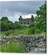 Deserted Building In Ireland Canvas Print