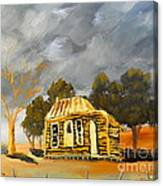 Deserted Castlemain Farmhouse Canvas Print