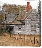 Deserted House Canvas Print