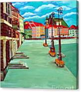 Deserted Warsaw Canvas Print