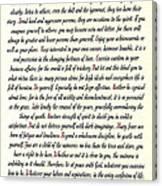 Desiderata Romanesque Canvas Print