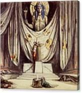 Design For Aeschylus The Eumenides Canvas Print